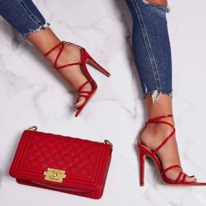 Ego Kaia Pointed Barwly There Heels